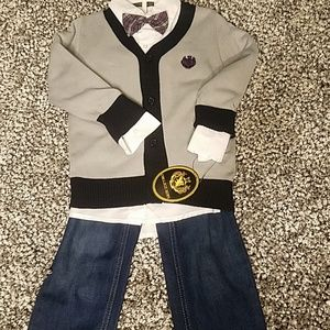 Holiday brand newboy with tags 4 piece set size 4T